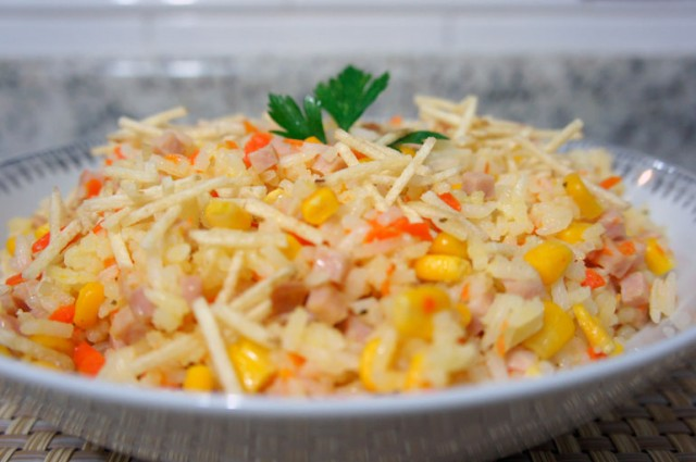 Arroz com Peito de Peru post