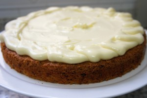 Carrot Cake - Bolo de Cenoura com Nozes e especiarias dentro do post3