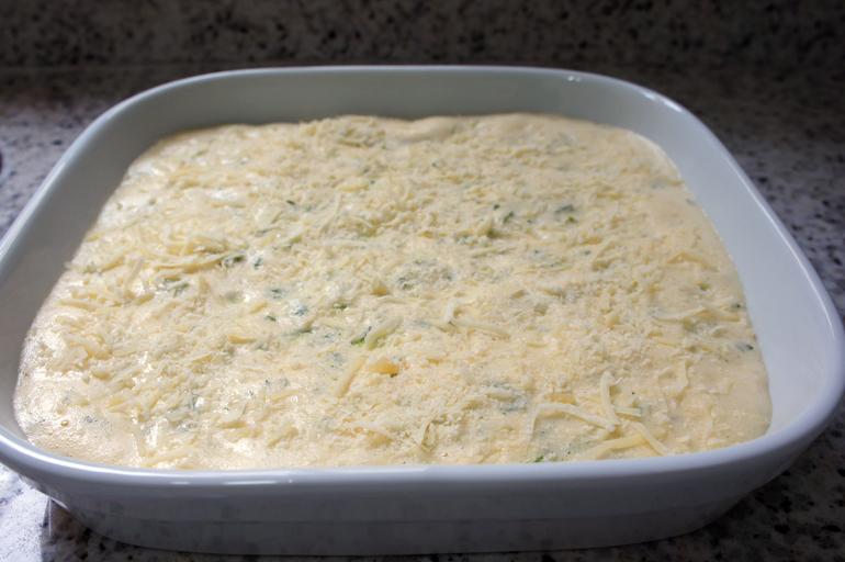 Omelete com Abobrinha no forno dentro do post1